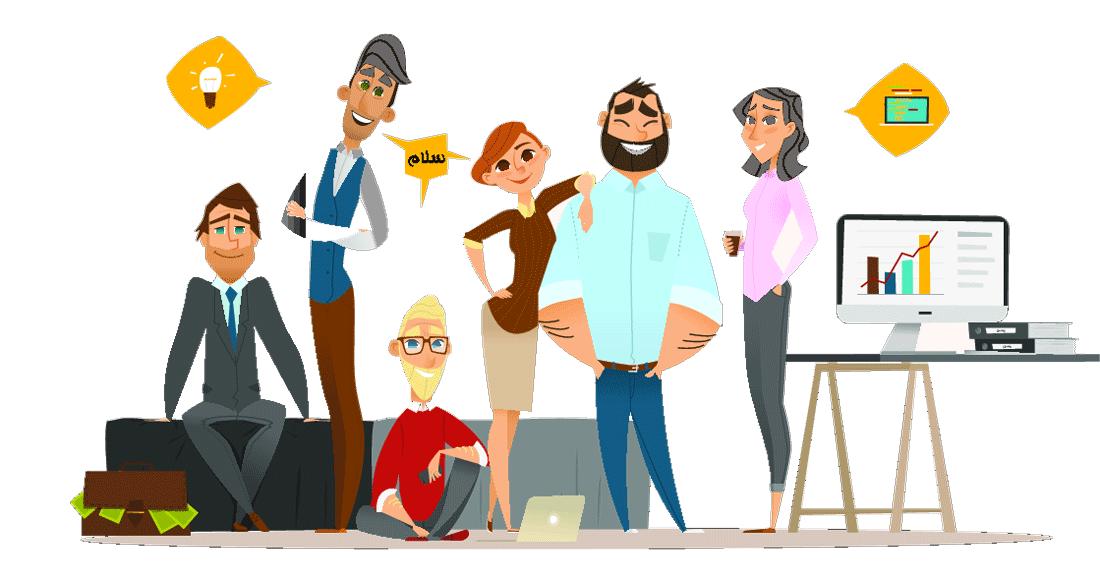 تیم تولید محتوا حرفه ای - سپیا وب
